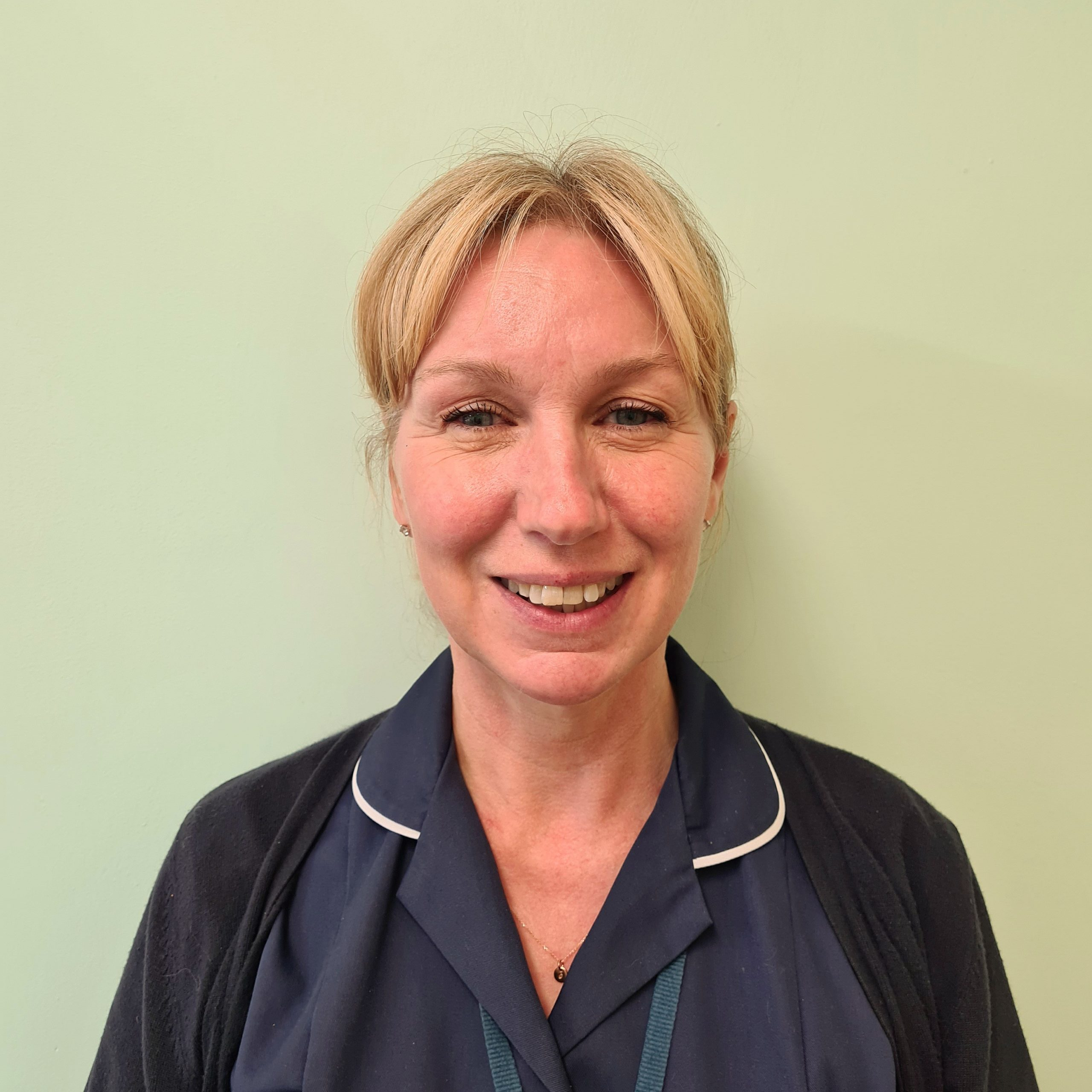 Practice and Outreach Nurse Kate Hazell